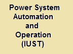 Power System Automation and Operation